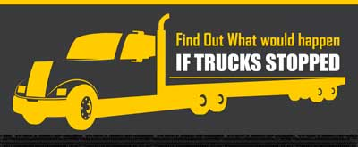 what if trucks stopped?