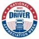 truck driver appreciation week logo